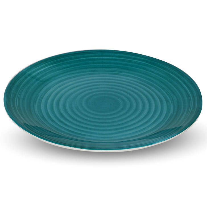 Living Essence Melamine Dinner Plate Teal,Plates