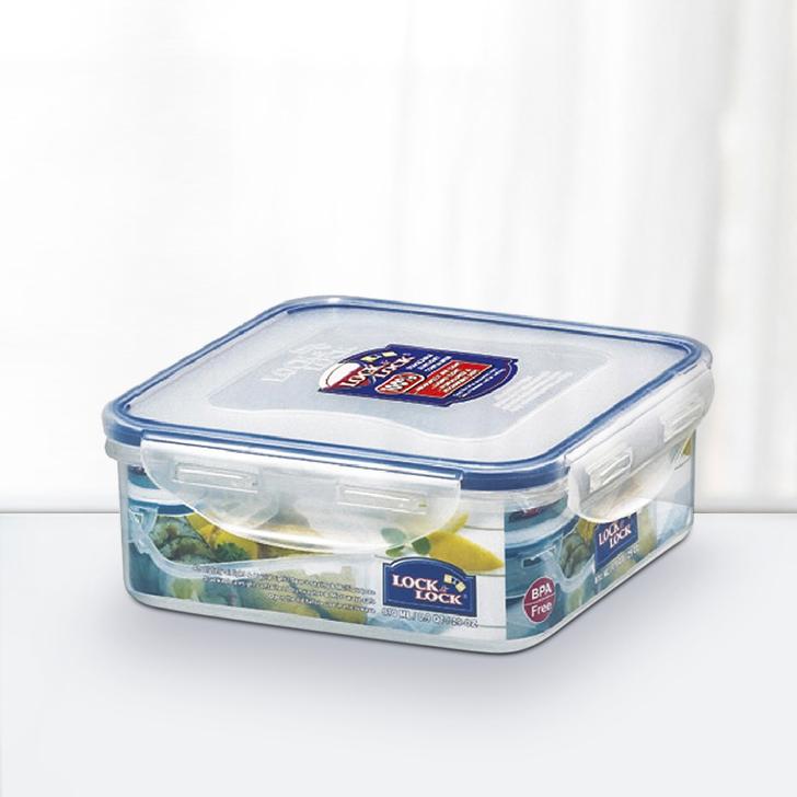 Lock & Lock Classics Square Food Container 870 ml,Containers
