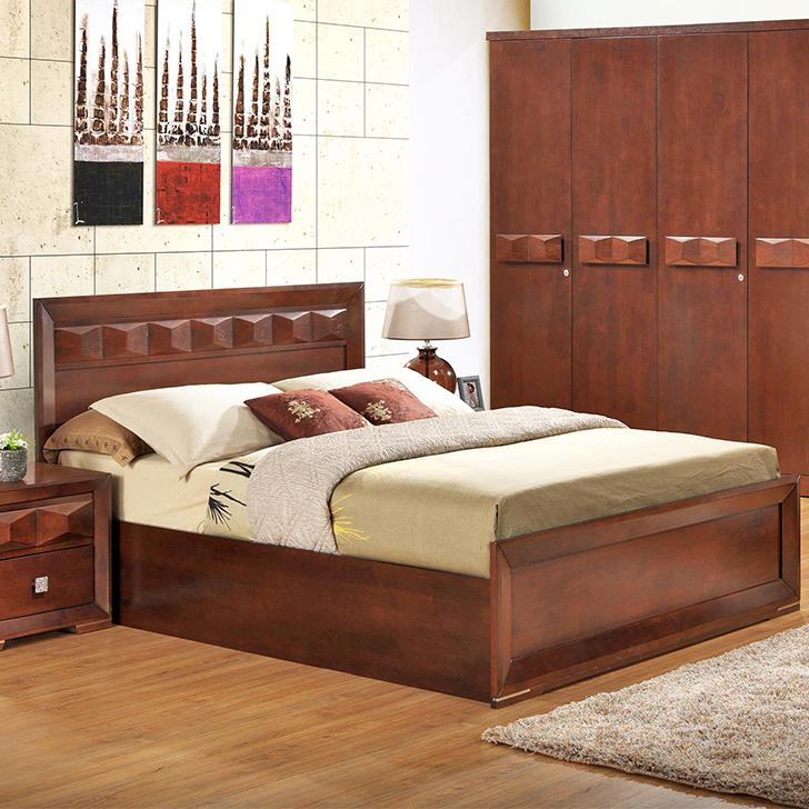 Amelia New Solidwod King Bed Wth Hydraulic Strorage,Hydraulic Beds