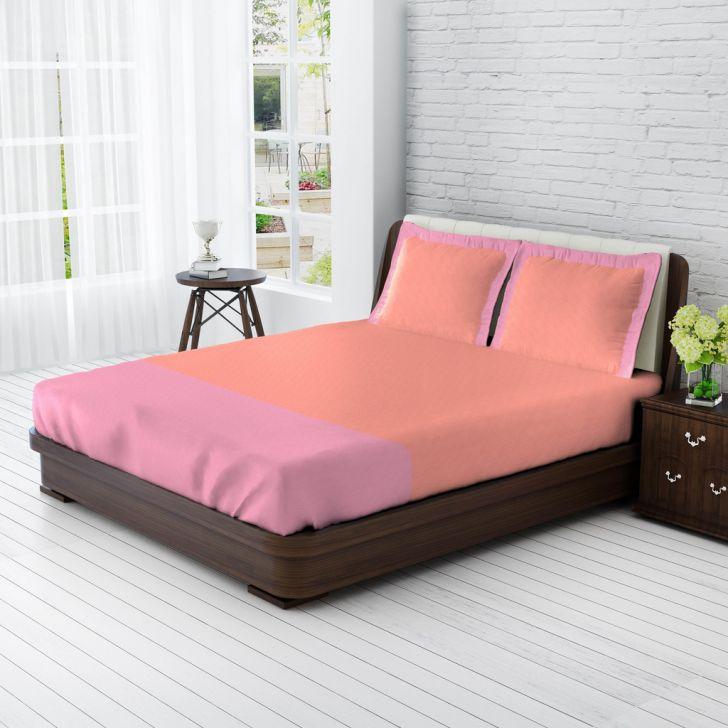 King Bedsheet Rose & Lavender,King Size Bed Sheets