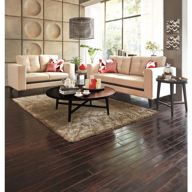Garcia Fabric Sofa Set Three Seater + Two Seater,Furniture
