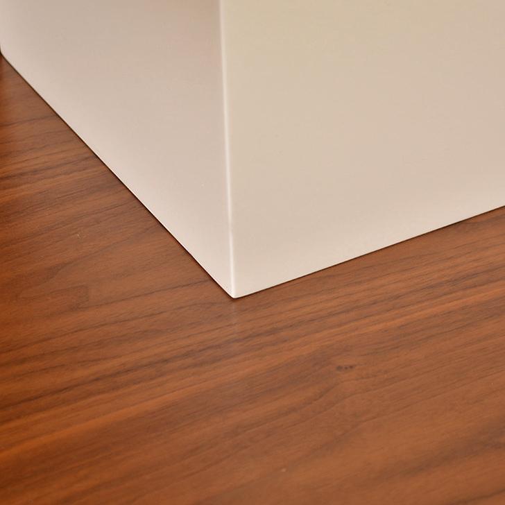 Lara Side Table Walnut And White,Festive Bonanza Offer
