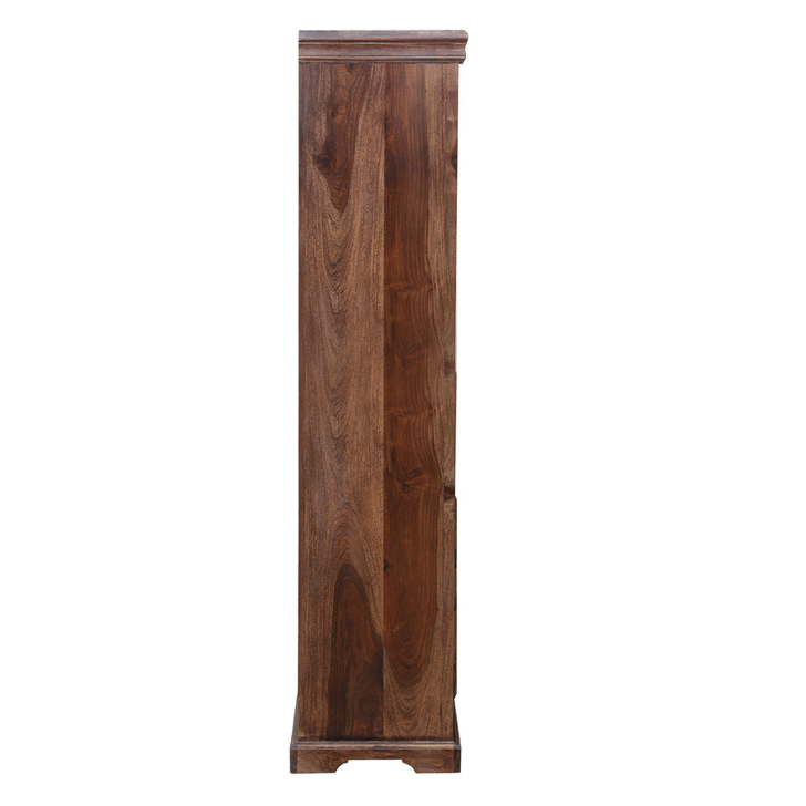 Tuskar Book Case Walnut,Bar Cabinets