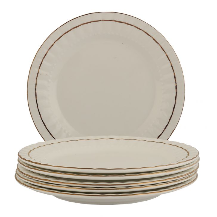 Ocean Gold Full Plate,Bowls & Plates