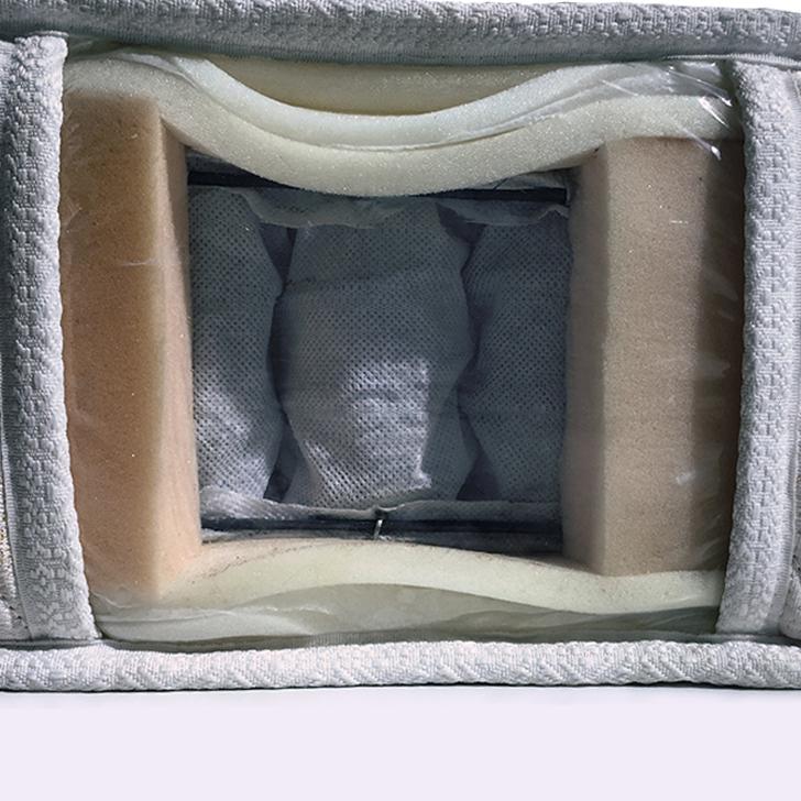 Living Essence Plus Queen Size(78x60) 8 Inch Pocket Spring Mattress,Mattresses