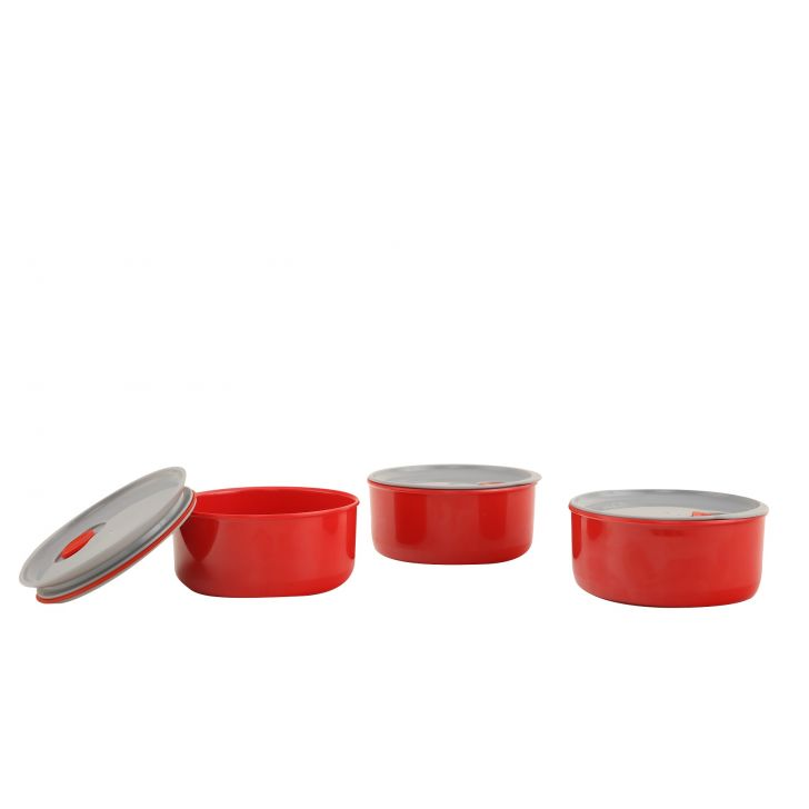 Milton Essen Melamine Container 3Pc Set,Kitchenware