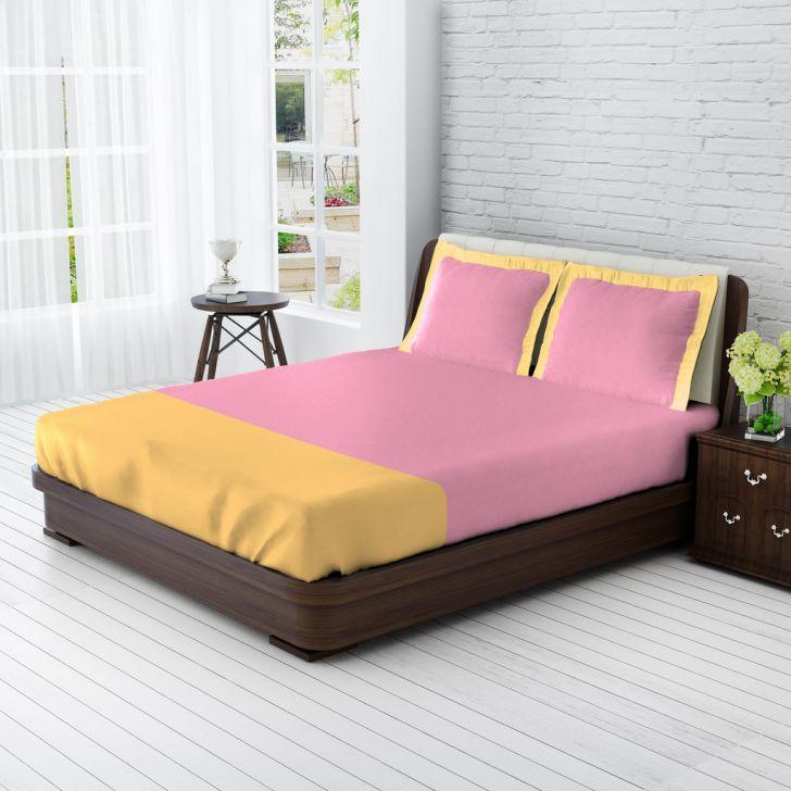 King Bedsheet Lavender & Sandwood,King Size Bed Sheets