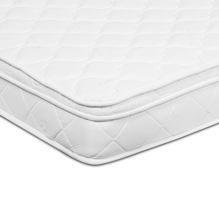 Majestic Queen Size (78 X 60) 6 Inch Pocket Spring and Memory Foam Mattress in White Colour,Mattresses
