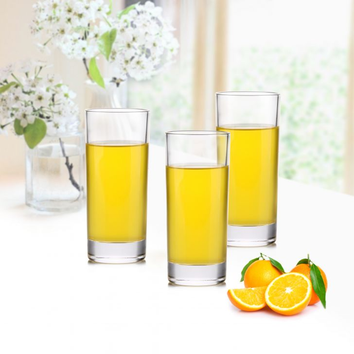 Crescent Water Tumblers Set Of Four,Serving & Platters
