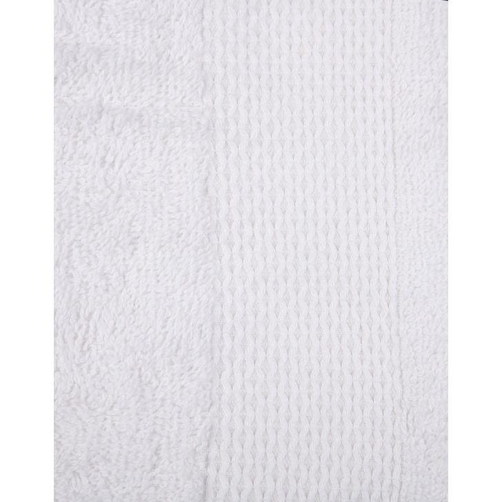 Terry Hand Towel 2 Piece White,Hand Towels