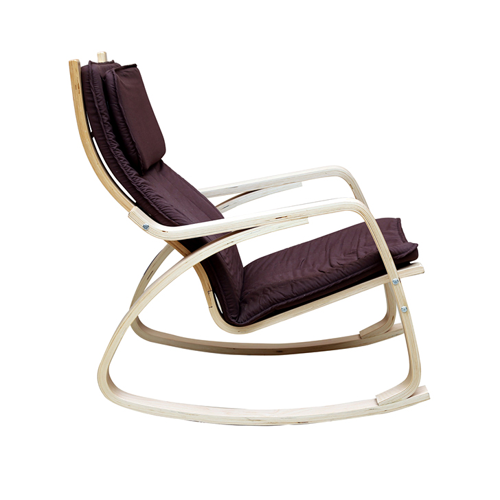 Vita Rocking Chair Brown,Rocking Chairs
