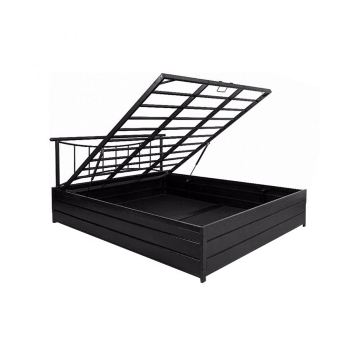 Texas Queen Bed With Hydraulic Storage,HomeTown Best Sellers