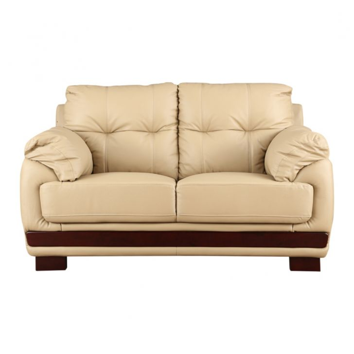 Gilbert Half Leather Two Seater Sofa,All Sofas