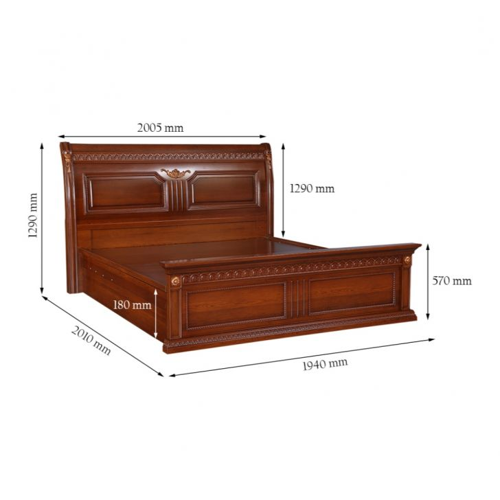 Morrison King Bed With Hydraulic Storage,Hydraulic Beds