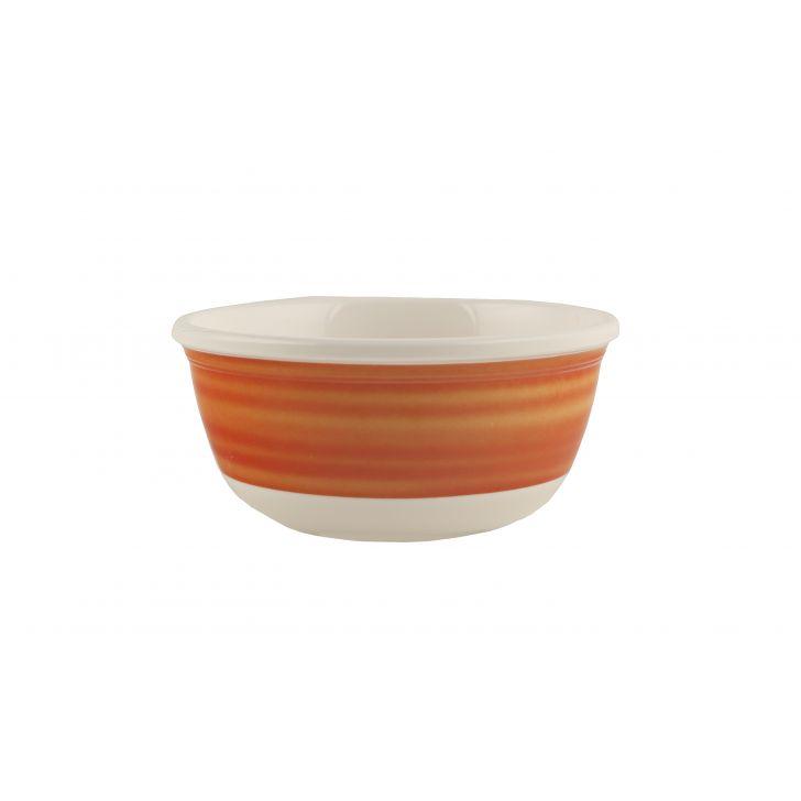 Tangello Swirl Veg Bowl Urmi,Bowls & Plates