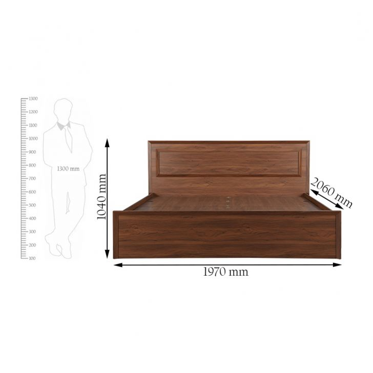 Stark King Bed With Storage,Furniture