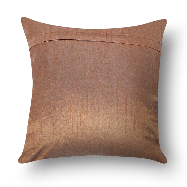 Living Essence Solid Cushion Cover Mocha,Covers & Inserts