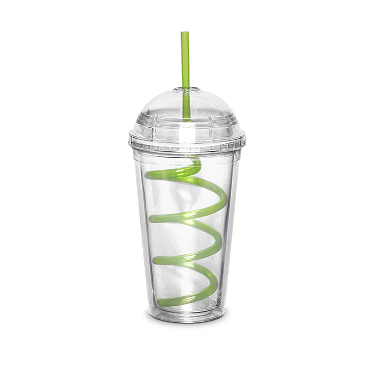 Living Essence Jb Sipper With Spiral Straw 500 ml,Sippers