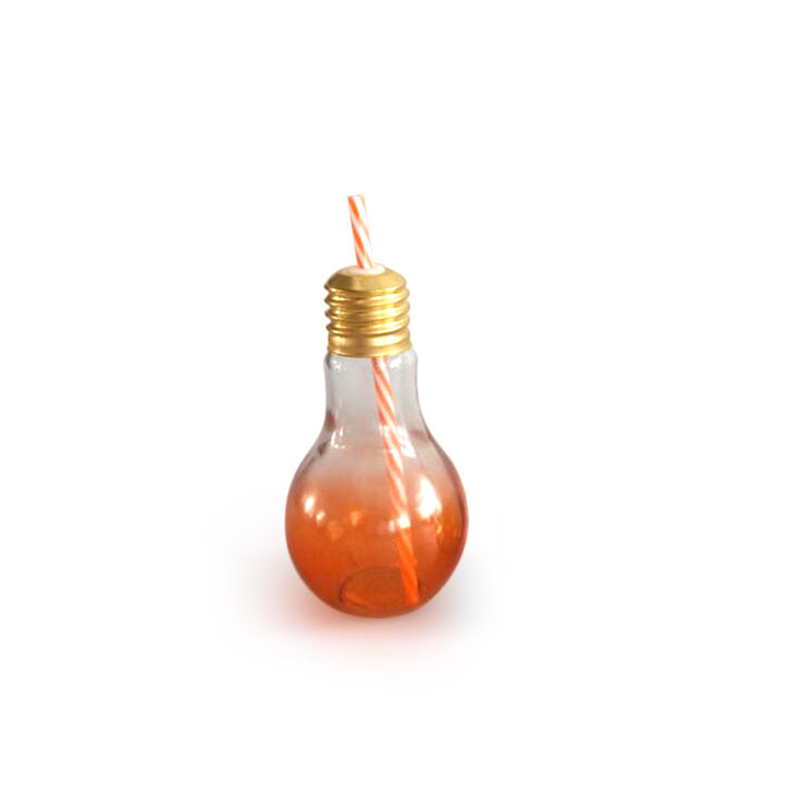 Living Essence Ombre Glass Bulb Sipper Assorted,Sippers