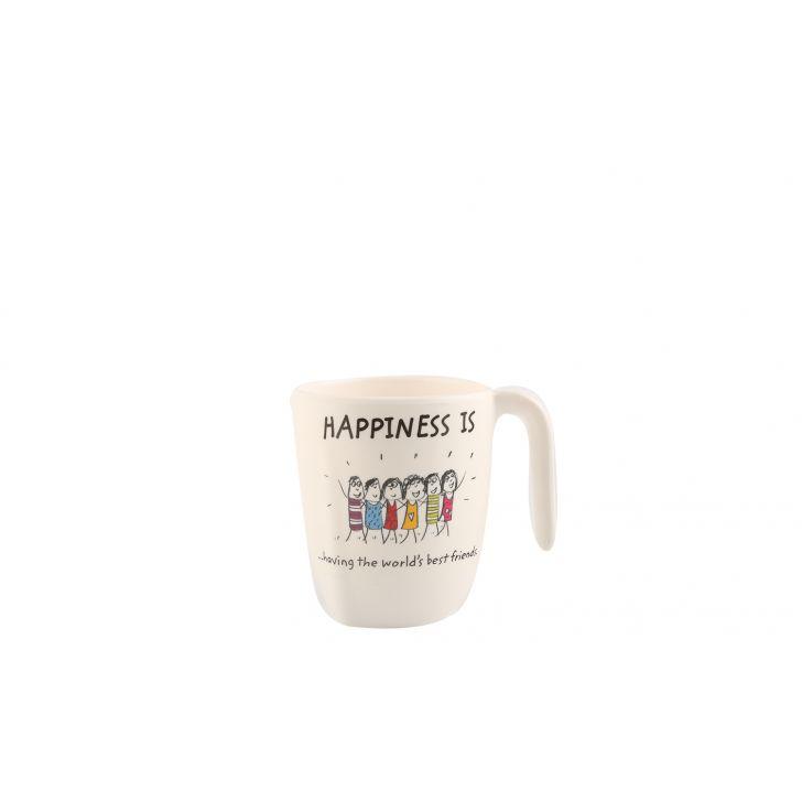 HAPPINESS SYMPHONY MUG L -Mod Asrt,Mugs & Cups