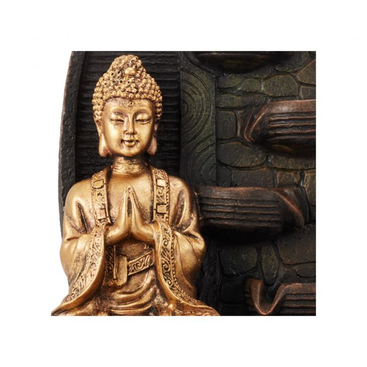 Impression Buddha Pot with Flower,Indoor Fountains