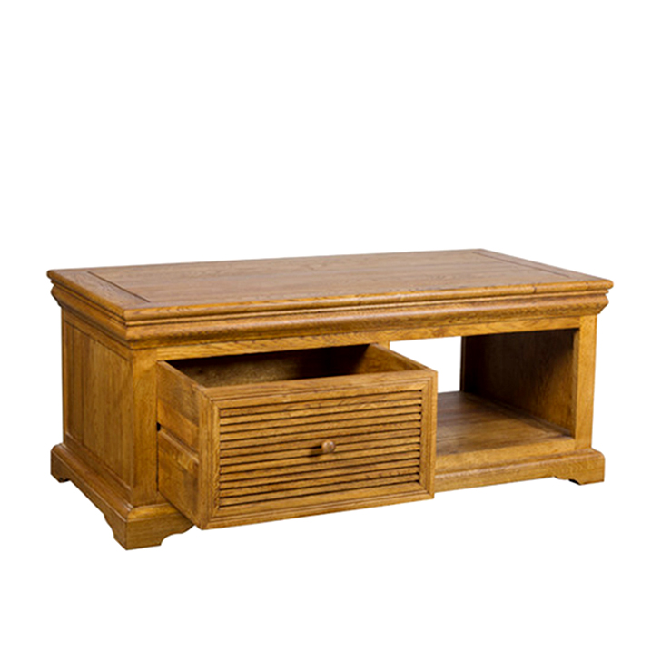 Denver Coffee Table in Brown Oak Colour,Console Tables
