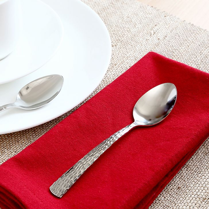 fns Madrid Tea Spoon Set of Six Pieces,Spoons