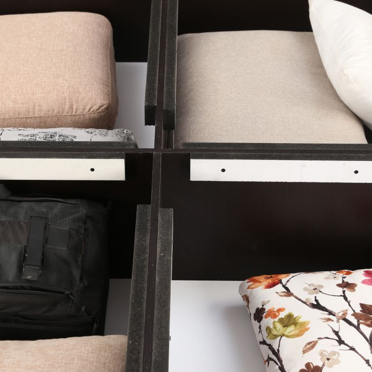 Majestic Queen Bed With Box Storage,Bedroom Furniture
