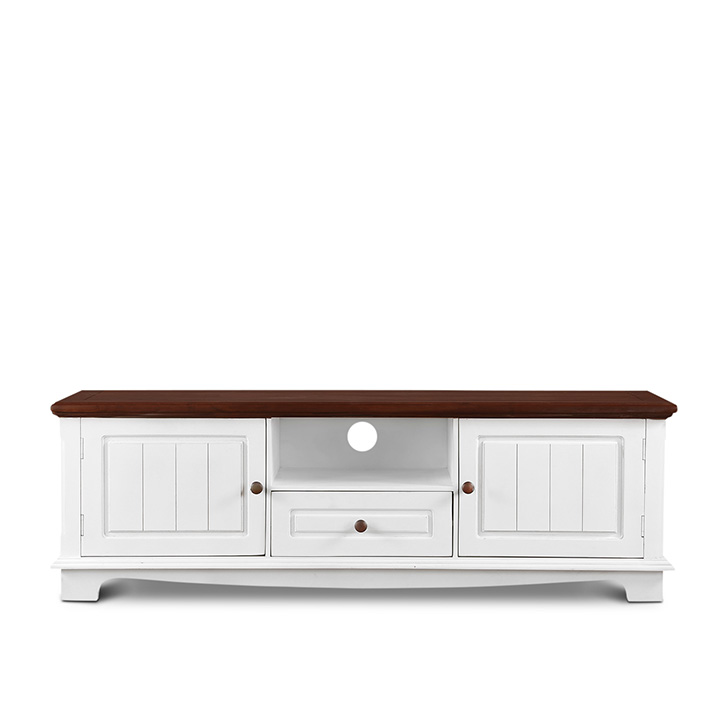 Richmond TV Unit Brown And White,Wall & Entertainment Units