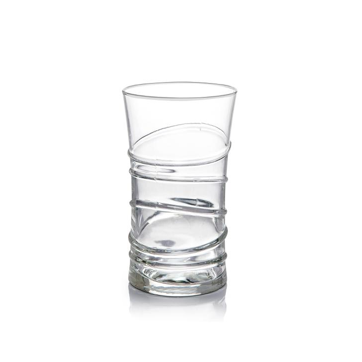 Lyra Ring Long Drink Glass 350 ml 6 Pcs,Glasses & Tumblers