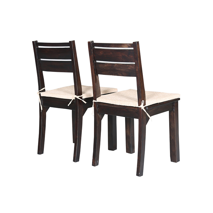 Stylo Dining Chair 2 Pcs Brown,Dining Room Furniture