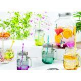 Glass Mason jars...