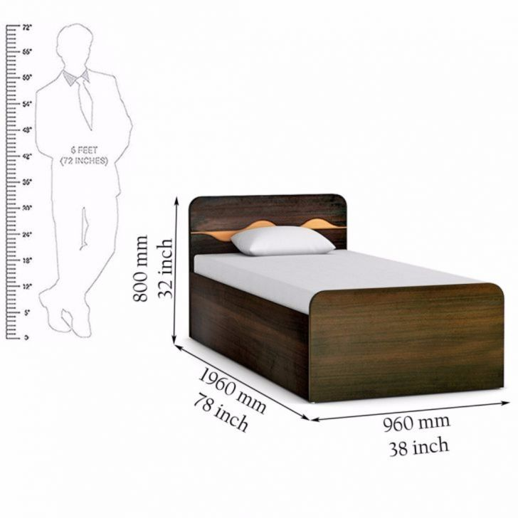 Single Bed With Storage Part - 27: Product ...