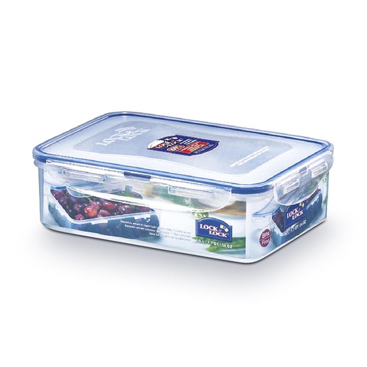 Lock & Lock Classics Rectangular Food Container 1600ml,Containers