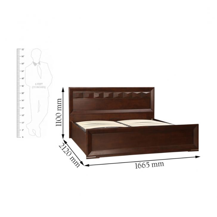 Amelia New Solidwod Queen Bed With Hydraulic Strorage,Hydraulic Beds