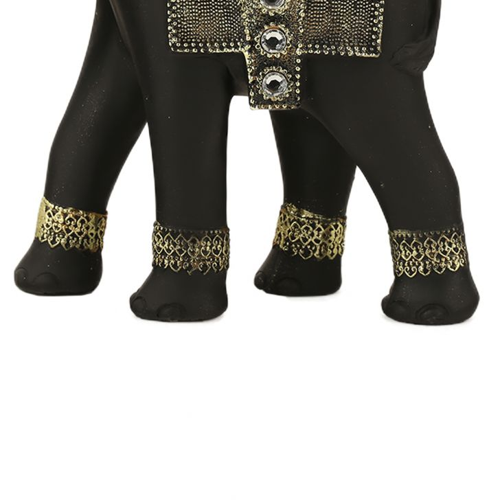 Fio Embossed Elephant Trunk Down Large,Showpieces