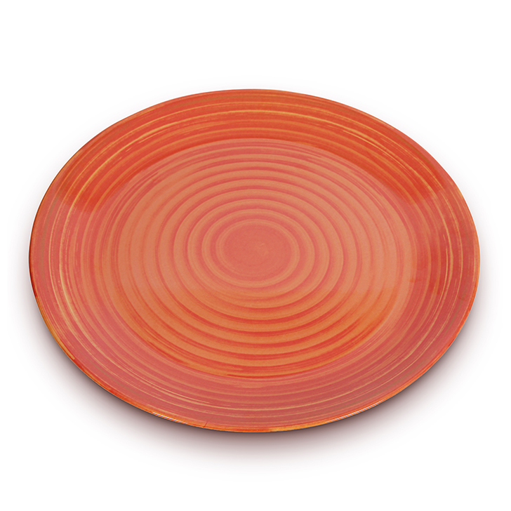 Living Essence Melamine Buffet Plate Copper,Plates