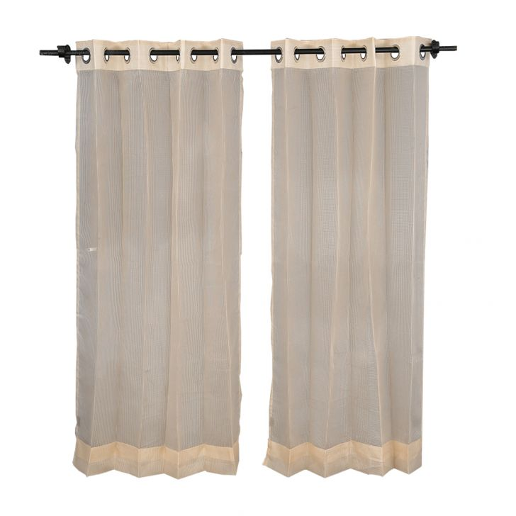 Sheer Extra Large Curtain SIA GoldCurtains
