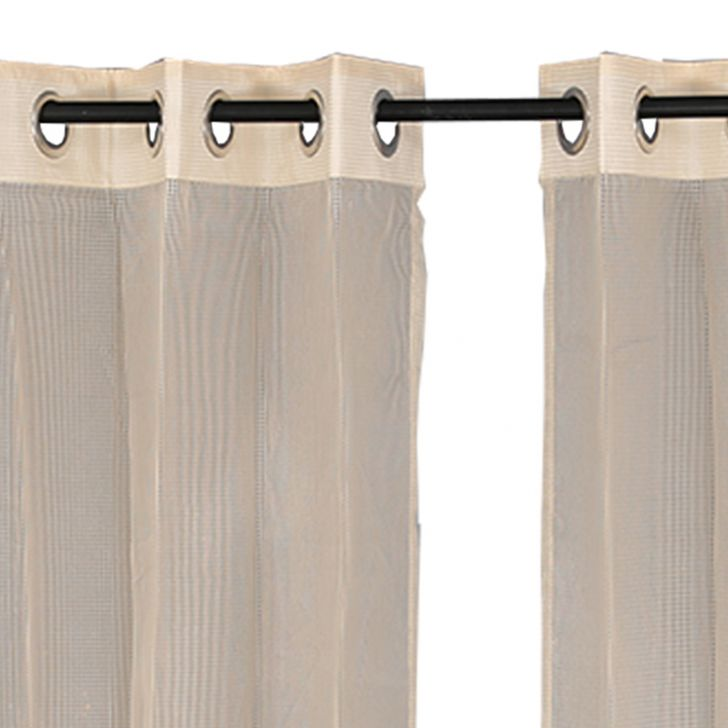 Sheer Extra large Curtain SIA Gold,Curtains