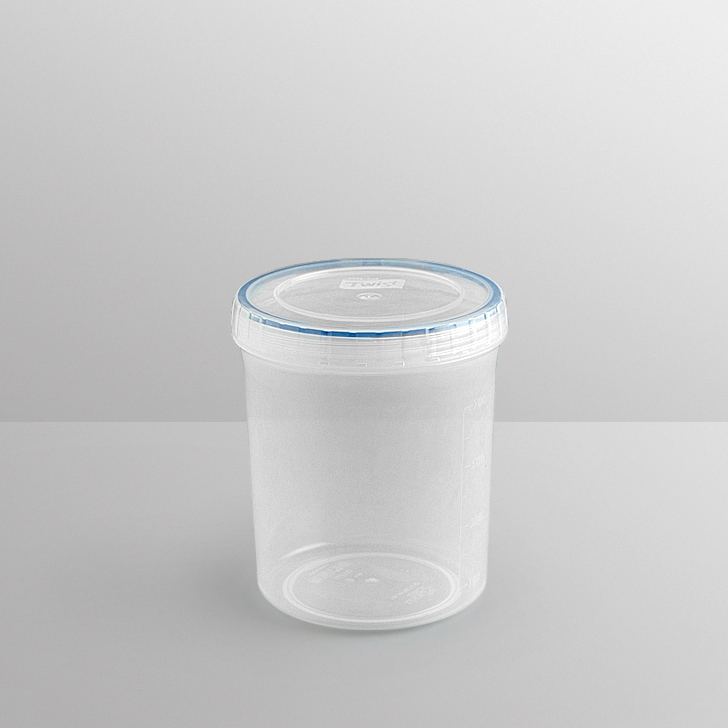 Lock & Lock Round Twist Container 1 Ltr,Containers