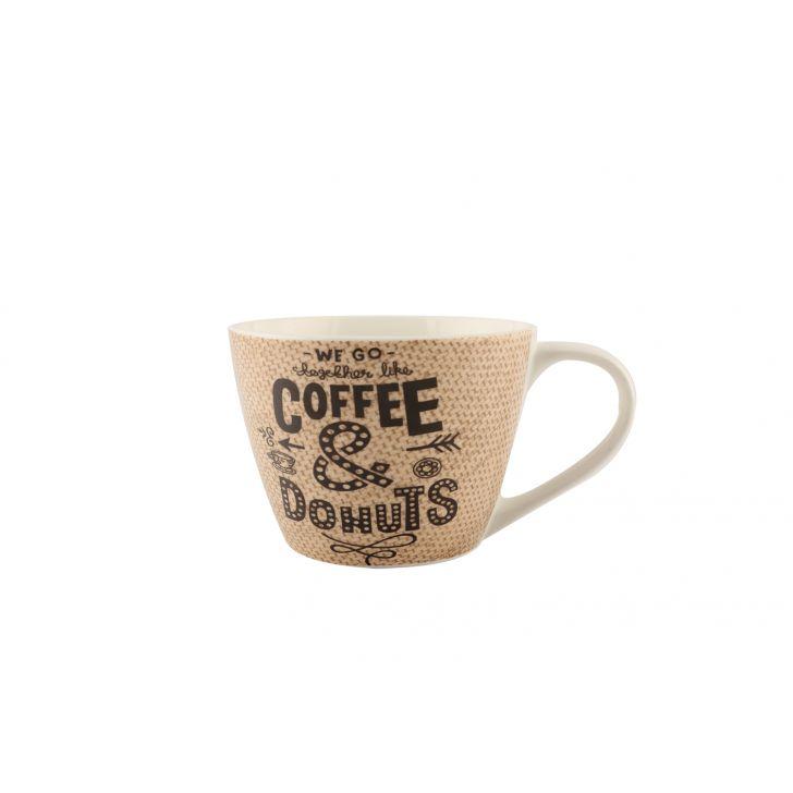 Typo Cappuccino Mug,Mugs & Cups