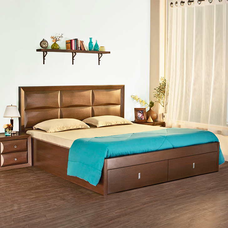Cambry Queen Bed With Hydraulic Storage,All Beds