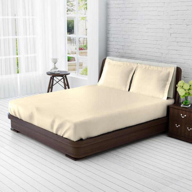 King Bedsheet Vanilla Sensonatu,King Size Bed Sheets
