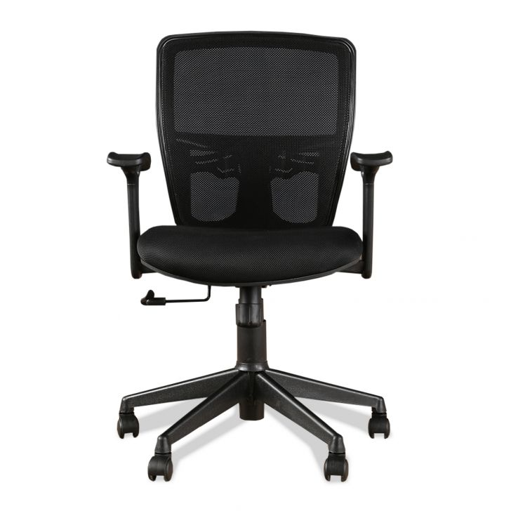 Aspire Medium Back Office Chair Black,Chairs