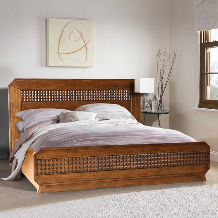 Sterling New King Bed With Hydralic Storage,All Beds