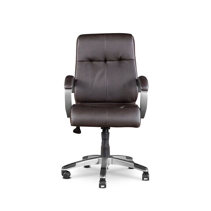 Hugo Leatherite Medium Back Chair,Office Chairs