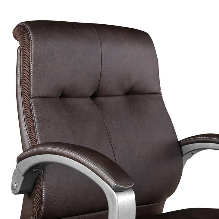 Hugo Medium Back Office Chair Brown,Chairs