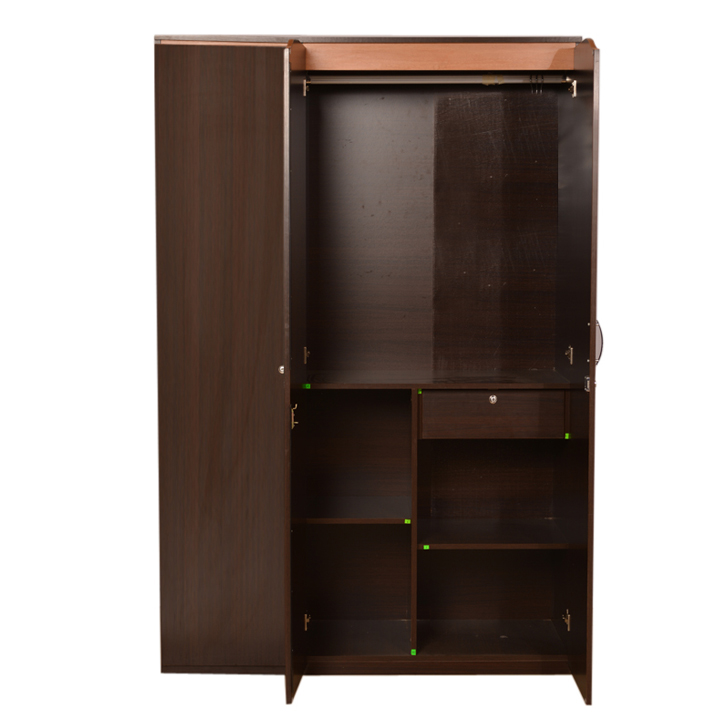 Swirl Three Door Wardrobe Teak,Furniture