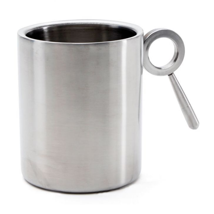 Hot Muggs Always Kiss Me Goodnight  Stainless Steel Double Walled Mug 350 ml, 1 Pc,Cups & Saucers