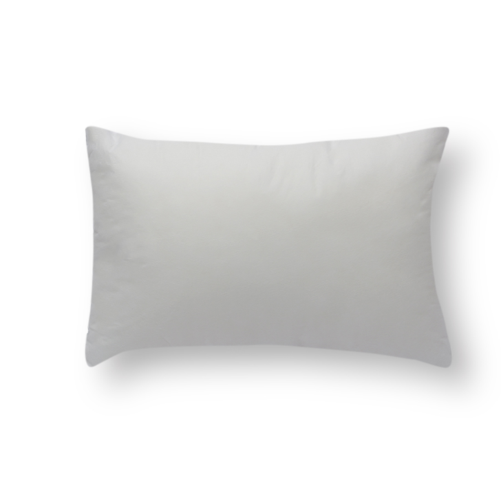 Living Essence Solid Rectangle Cushion Filler White,Home Furnishings